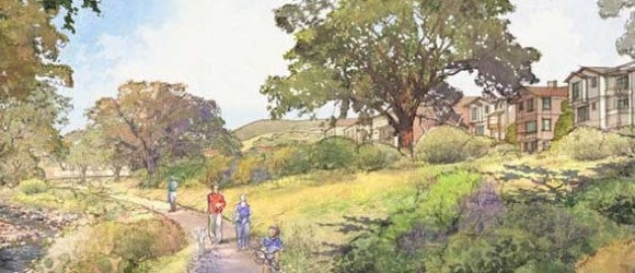 Sun Cal rendering of proposed Oak Knoll Community.  www.oakknollcommunity.com